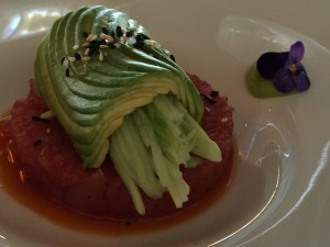 River Cafe - the prettiest avocado on a plate